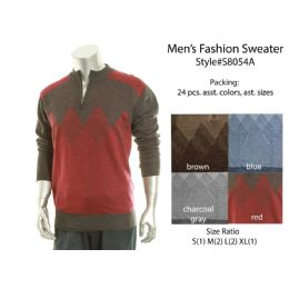 24 Units of Mens Fashion Sweater - Mens Sweat Shirt