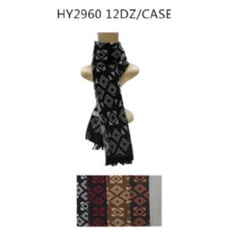72 Units of Mens Fashion Winter Scarves - Winter Scarves