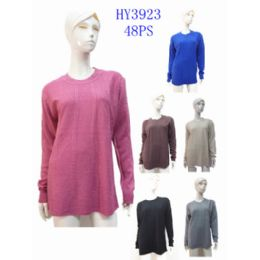 24 Units of Ladies Fashion Sweater - Womens Sweaters & Cardigan