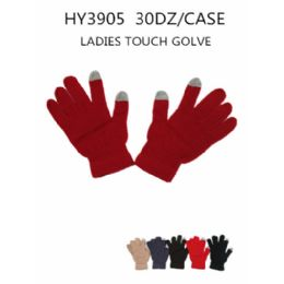72 Units of LADY'S TOUCH GLOVE - Conductive Texting Gloves