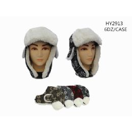 72 Units of Winter Fashion Trapper Hats - Trapper Hats