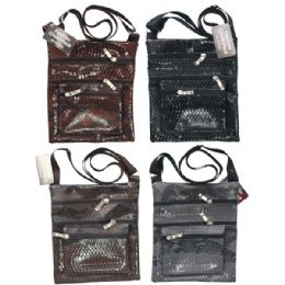 36 Units of Fashion Shoulder Bag Croc - Shoulder Bags & Messenger Bags