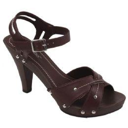 18 Units of Ladies Fashion Heels in Browne - Women's Heels & Wedges
