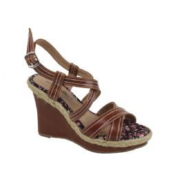 12 Units of Ladies Fashion Heels Pretty Design In Camel - Women's Heels & Wedges