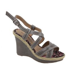 12 Units of Ladies Fashion Heels Pretty Design In GRAY - Women's Heels & Wedges