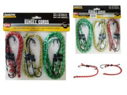 96 Units of 6 Piece Bungee Cords - Bungee Cords