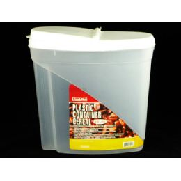 24 Units of Plastic Cereal Container - Food Storage Containers
