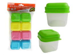 96 Units of 8pc Storage Containers - Food Storage Containers