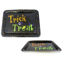 """72 Units of Halloween """"trick Or Treat"""" Serving Tray - Halloween & Thanksgiving"""