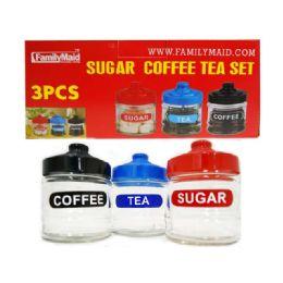 24 Units of Sugar Tea Coffee Set - Storage Holders and Organizers
