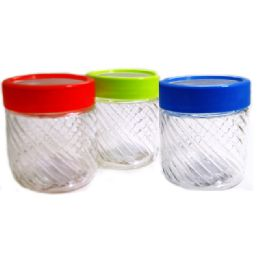 72 Units of Glass Jar - Storage Holders and Organizers