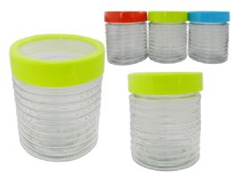24 Units of Glass Jar - Storage Holders and Organizers