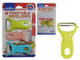 96 Units of 3 Pack Vegetable Peelers - Kitchen Gadgets & Tools