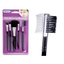 "72 Units of Makeup Brush 5pc 5.25"" - Cosmetics"