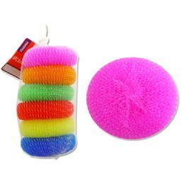 72 Units of 6 Pc Scourer Balls - Scouring Pads & Sponges