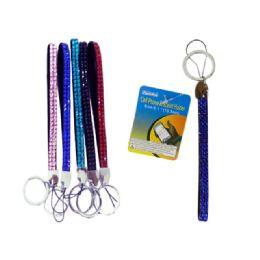 96 Units of Cell Phone Bracelet Holder6.1x2 Long 6asst Clr - Cell Phone Accessories