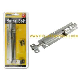 """96 Units of Barrel Bolt 5"""" Dou Blister - Drills and Bits"""