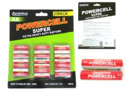 24 Units of 21pc Aa Batteries - Batteries