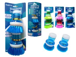 96 Units of 2 Piece Dish Washer Scrubber - Brushes