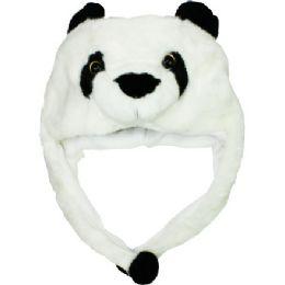 24 Units of Winter Polo Bear Hat - Winter Animal Hats