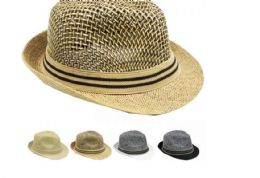 6ab026e95d931 24 Units of HIGH QUALITY FEDORA HAT MIX ASSORTED COLOR - Fedoras ...