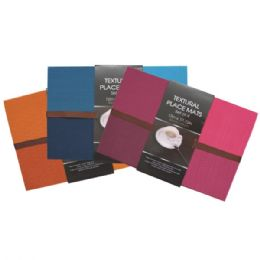 48 Units of Placemat 4PK Solid - Placemats