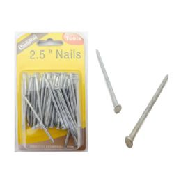 72 Units of 2.5 Inch Nails - Drills and Bits