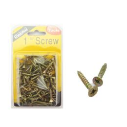 72 Units of 1 Inch Screw - Drills and Bits