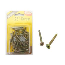 "96 Units of Screw 1 3/4"" 200g Dou Blister - Drills and Bits"