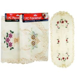 60 Units of Table Centercloth Fabric 38x83 - Table Cloth