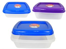 48 Units of Large Rectangle Food Container - Food Storage Containers