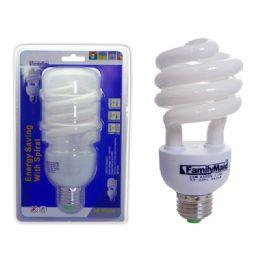 72 Units of 30 Watt Energy Saving Spiral Lightbulb - Lightbulbs