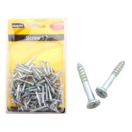 "72 Units of Screw 1"" 100pc Dou Blister - Drills and Bits"