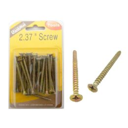 "96 Units of Screw 2 3/8"" 200g Dou Blister - Drills and Bits"