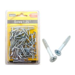 "96 Units of Screw 1.25""85pc Doublister - Drills and Bits"