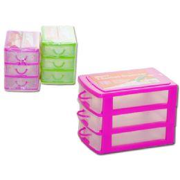 72 Units of Storage Organizer 3 Sectionasst Clr - Storage Holders and Organizers