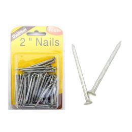 72 Units of 2 Inch Nails - Drills and Bits