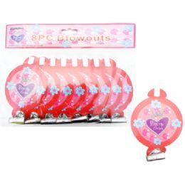 72 Units of 8 Piece Princess Party Blowout - Party Favors