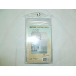 48 Units of Clear Shower Liner - Shower Curtain