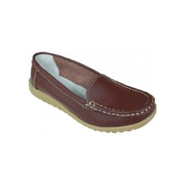 12 Units of Ladies Brown Everyday Flats - Women's Flats