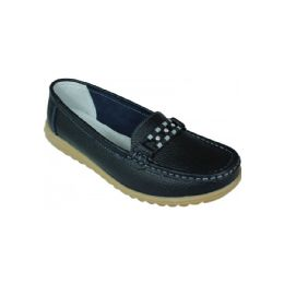 12 Units of Ladies Everyday Flats In Black - Women's Flats