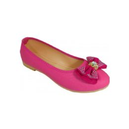 18 Units of Ladies Fashion Flats In Pink - Women's Flats