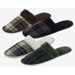 48 Units of Men's Slippers Assorted Color - Men's Slippers