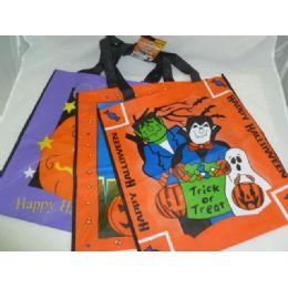 288 Units of Halloween Plastic Bags - Halloween & Thanksgiving