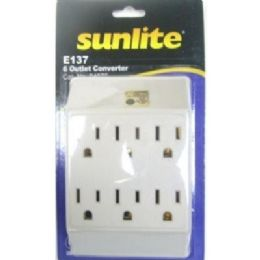 48 Units of 6 Outlet Converter - Chargers & Adapters