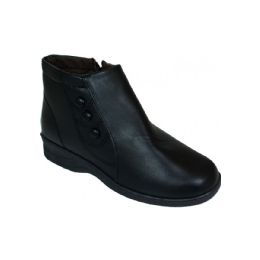 20 Units of Ladies Fashion Black Boots - Women's Boots