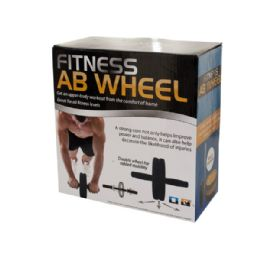 6 Units of Fitness Ab Wheel - Workout Gear
