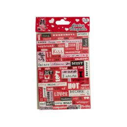 144 Units of Valentine's Day Poetry Conversation Magnets - Valentines