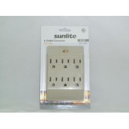 120 Units of 6 Outlet Converter - Chargers & Adapters