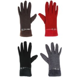 36 Units of TOUCH SCREEN GLOVES LADIES ASSORTED COLOR - Conductive Texting Gloves